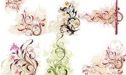 زخارف زهور فيكتور Decoration Flower Vector
