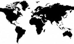 اشكال خرائط العالم Photoshop Shapes World Map