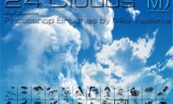 فرش غيوم للفوتوشوب Clouds Brushes