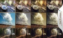 اكشن فوتوشوب للتأثير اللوني photoshop actions