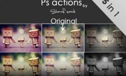 5 اكشن فوتوشوب للتأثير اللوني actions