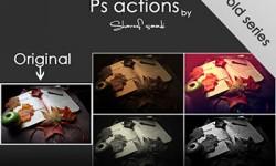 اكشن للتأثير القديم على الصور للفوتوشوب photoshop_actions